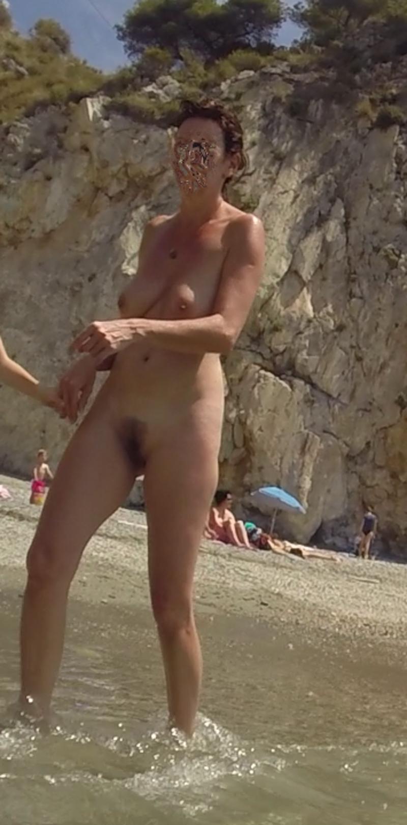 nue sur les plages voyeur sexy